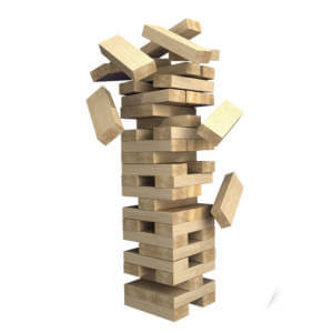 Hire Lawn Games Giant Jenga
