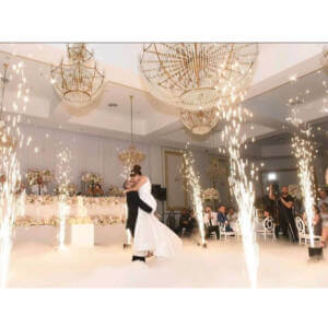 Wedding Indoor Fireworks Hire Perth