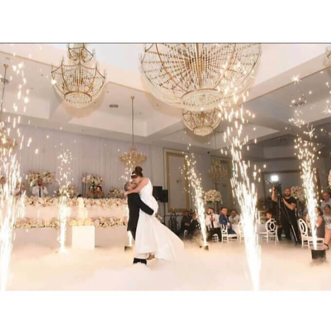 Hire Indoor Fireworks Perth for Weddings